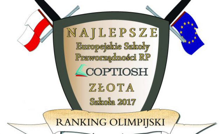 Złota Europejska Szkoła Praworządności RP 2017