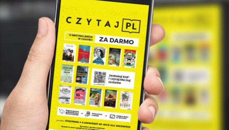 Akcja Czytaj PL wystartowała! 12 bestsellerowych książek za darmo!