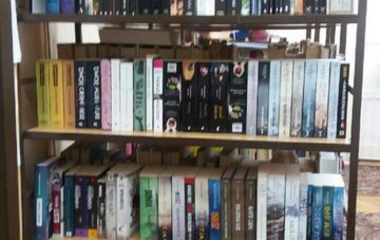Nowe książki w szkolnej bibliotece